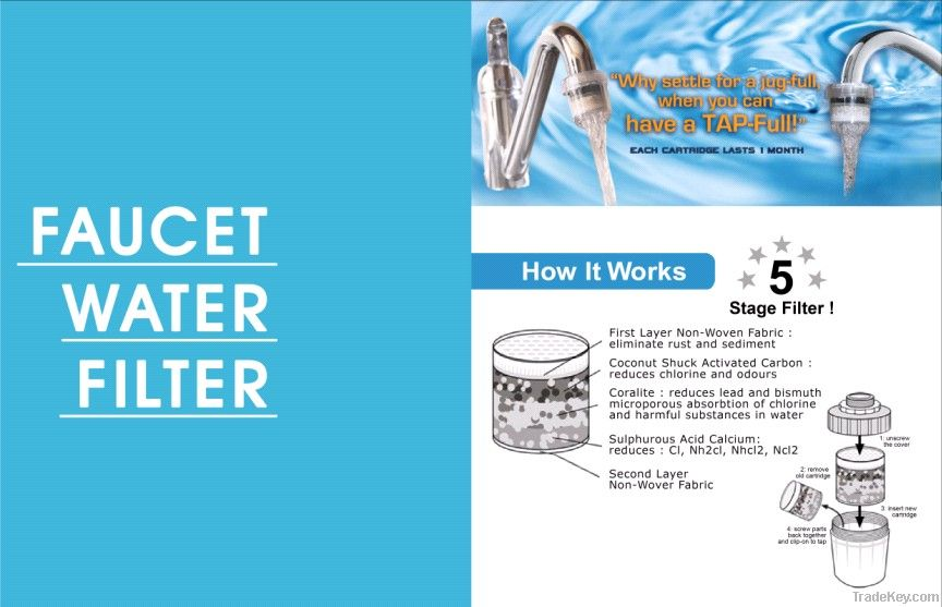 home water tap faucet filter