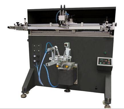 LTY-600E Curved surface screen printing machine for Plastic Bottle