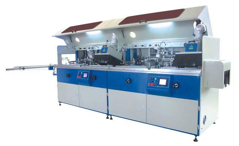 5 Colors Full Auto UV Screen Printing Machine for Plastic Bottle