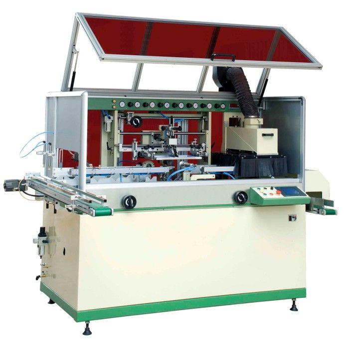 1 Color Full Auto UV Screen Printing Machine for Plastic Bottle