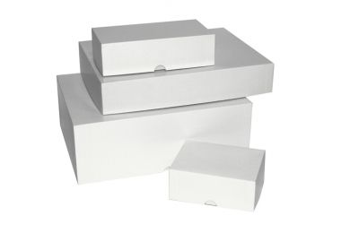 Flat pack box with your brand logo printed