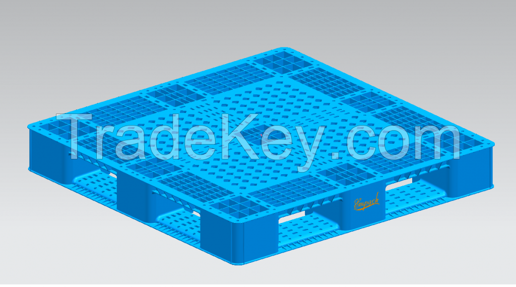 PLASTIC PALLET AND PP STRAPS