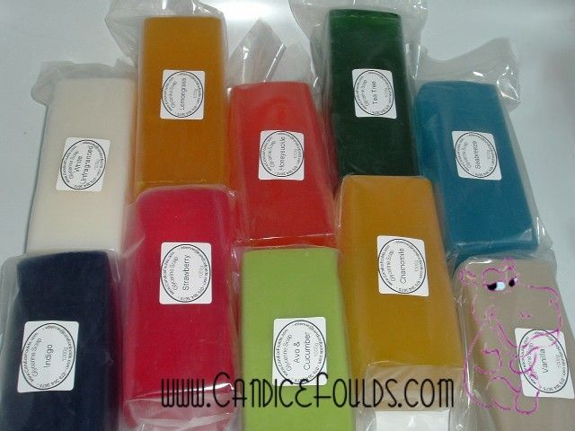 Clear Glycerine Soap