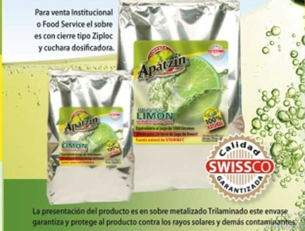 Apatzin (Real Lime Flavor)