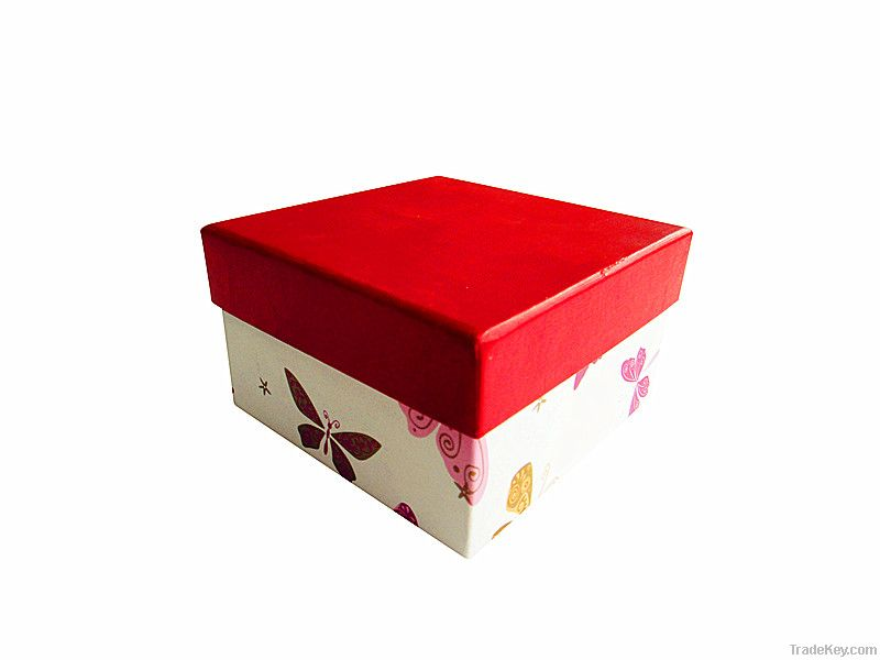 Golden Color Paper Wine Packaging Box