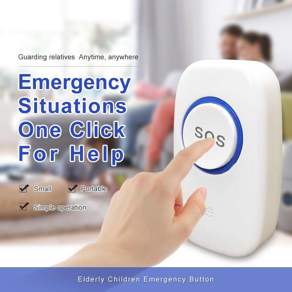 315/433Mhz Wireless SOS button wireless SOS call button wireless doorbell button anti-theft alarm accessories