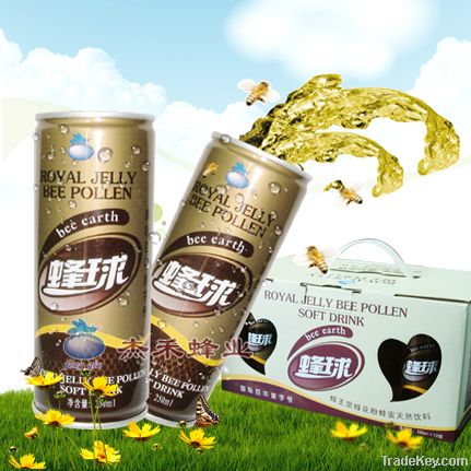 Royal Jelly Bee Pollen Soft Drink
