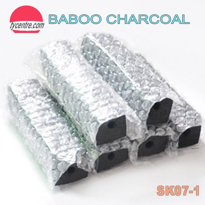 Long burning BBQ bamboo charcoal. Smokeless and ECO friendly