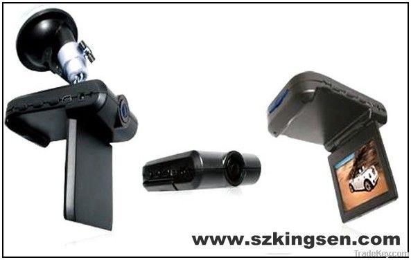 night vision car DVR camera, 2.5inch TFT colorful screen camera