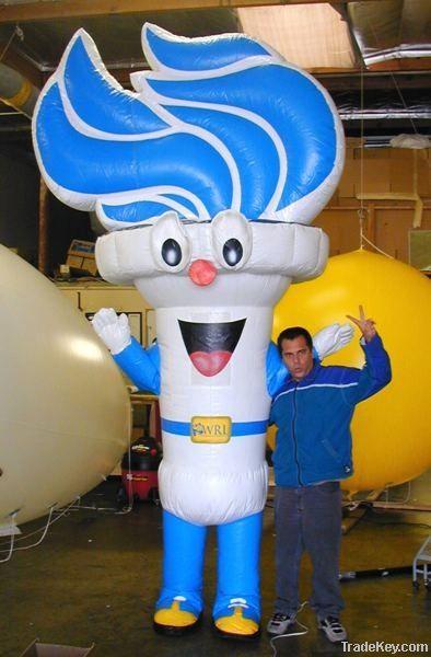 inflatable cartoon