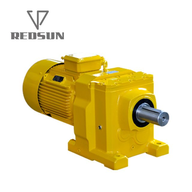 R series helical gear reducer