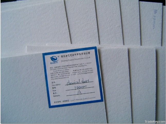 nonwoven chemical sheet