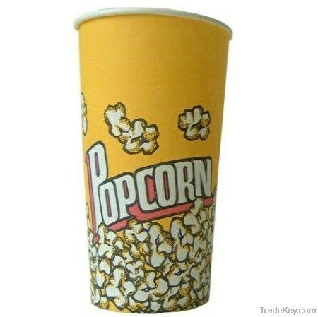 Paper Popcorn Bucket