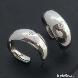 2012 fashion steel earrings for women