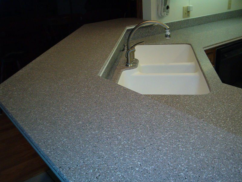 acrylic solid surface top