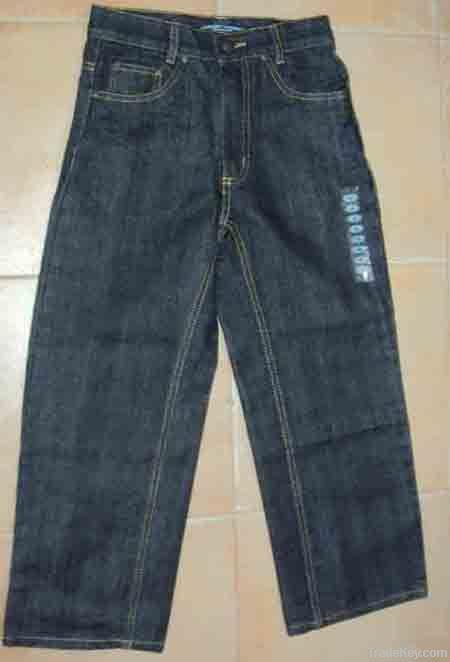 Boy's Denim Long Pant