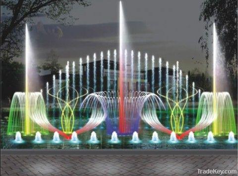 musical dancing fountain