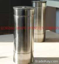 mix in fountain nozzle