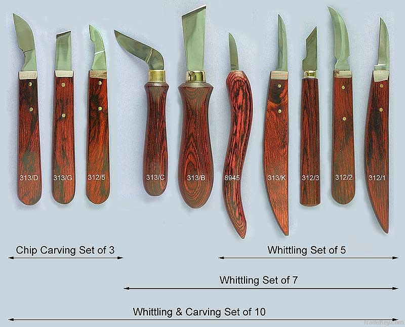 Wood carving tools set