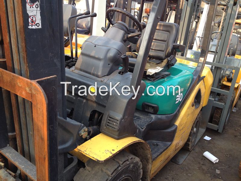 komatsu 3ton used fork truck for sale