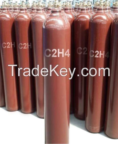 Ethylene 99.95% Purity C2H4