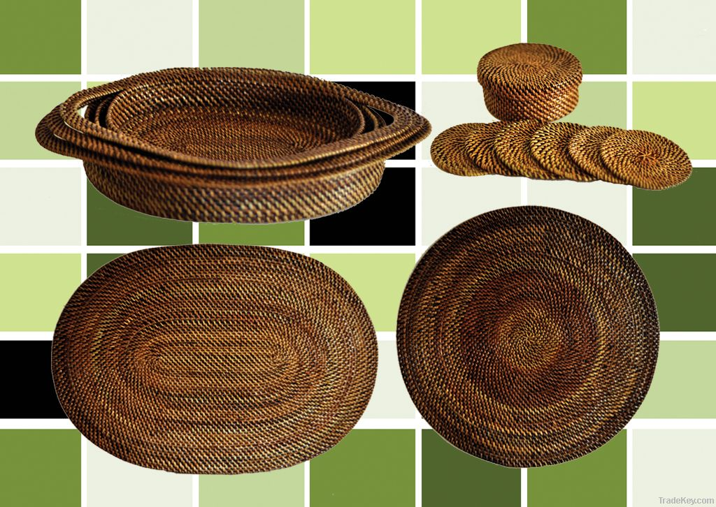 Native Placemats By Likhang Pinoy Handicrafts Philippines