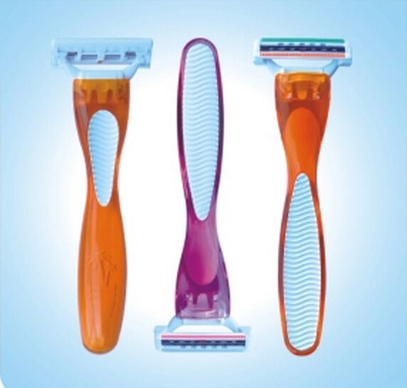 Disposable Triple Blades Razor for women/Femail Razor Blades