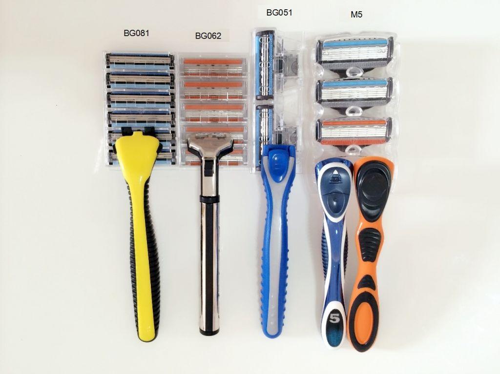 Manual Triple Blades Razor for men(USA Imported Cartridge)