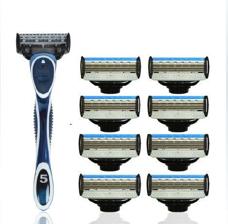 Five Blade Razor A381 5+1 - 5 Blade Shaving Surface