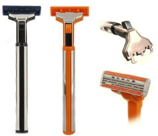 Manual Triple Blades Razor for men(USA Imported Cartridge)