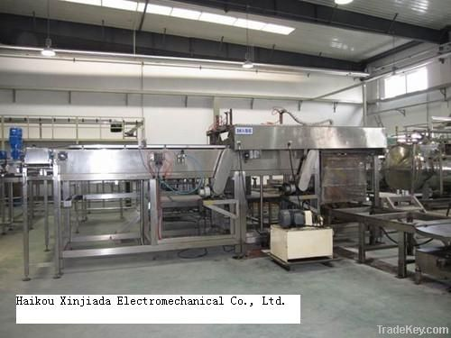 Automatic Cancage loader machine for  food and beverage cans sterilize