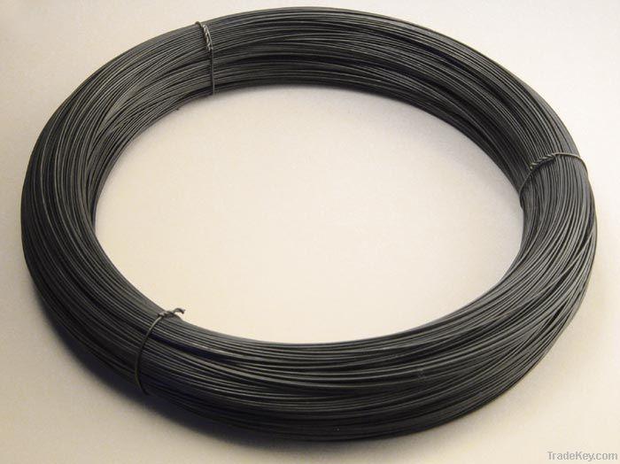 low carbon steel wire, soft (black annealed wire)