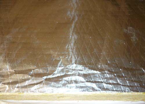 Rockwool Slab With Aluminum Foil