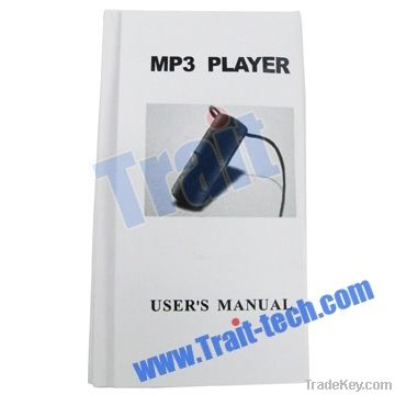 MINI 2GB, 4GB Water Resistant Necklace MP3 Player Black