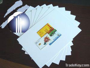 pvc card material