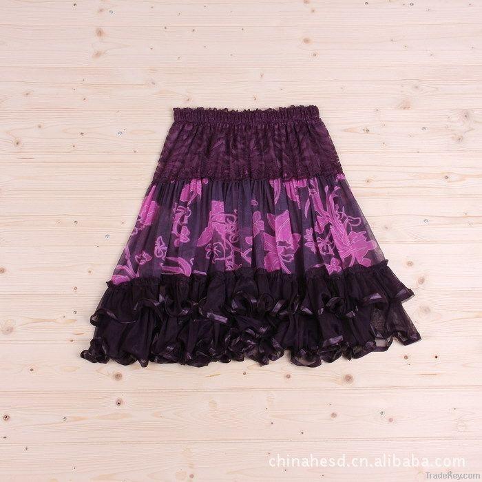 Girls Printing Dress