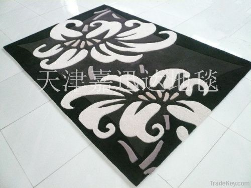 New design handtufted acrylic carpet and rug