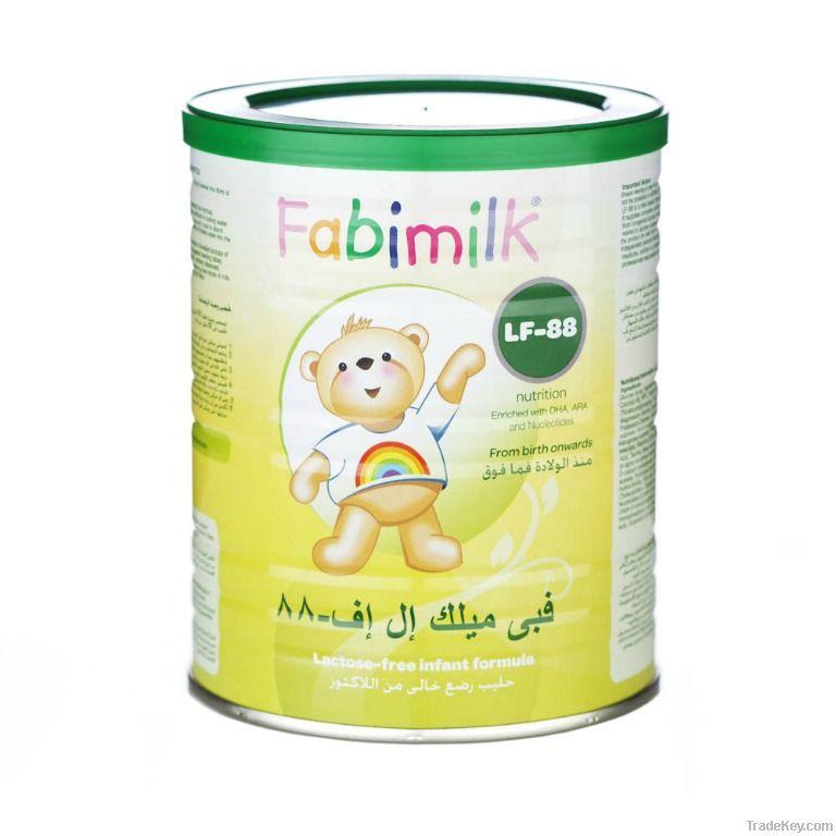Fabimilk LF-88  Lactose Free Formula
