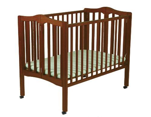 2 in 1 folding crib