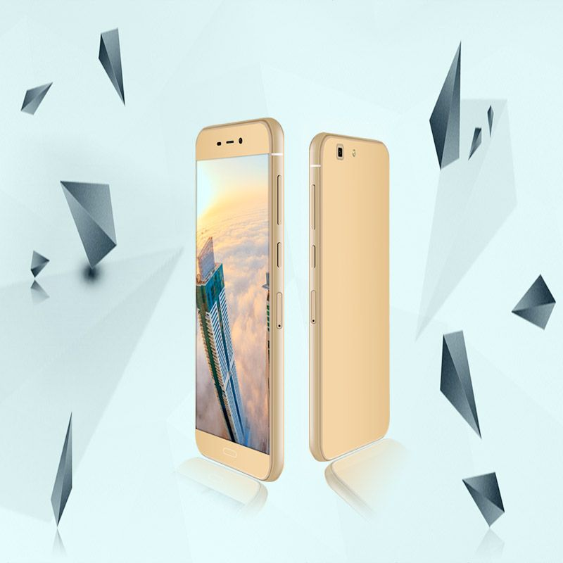 5.25 inch Quad-Core 720*1280 IPS 2.5D screen 4g smartphone