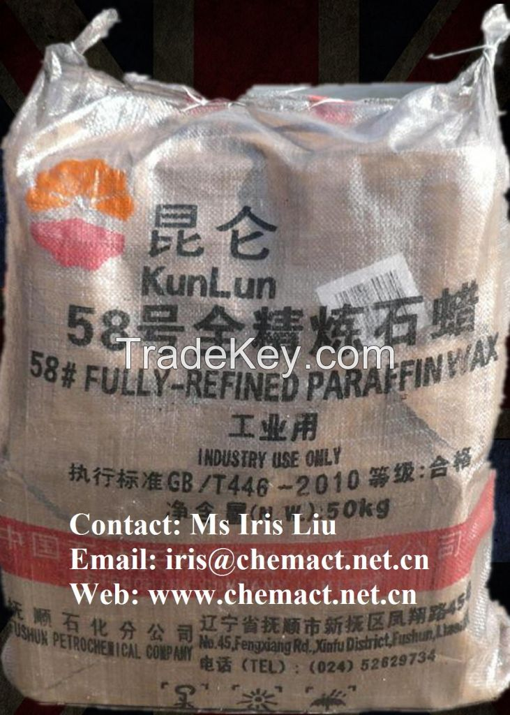 Fully Refined Refinement and Candle Making Application paraffin wax
