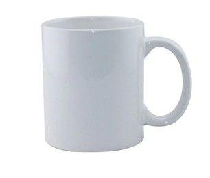 plain white blank sublimation mug wholesale
