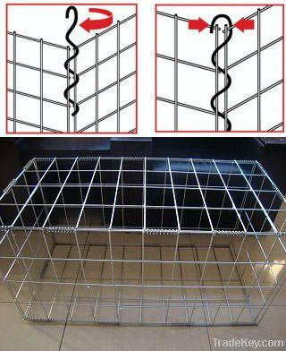 hot sell welded gabion basket prices(ISO 9001)