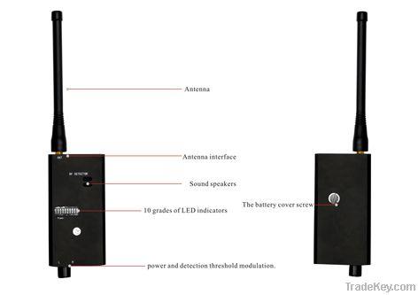 spy bug cellphone detector
