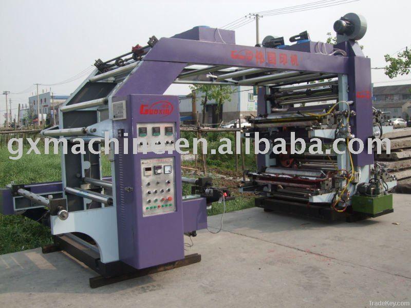 YTB-41000 High Speed Kraft Papre Flexo Printing Machine