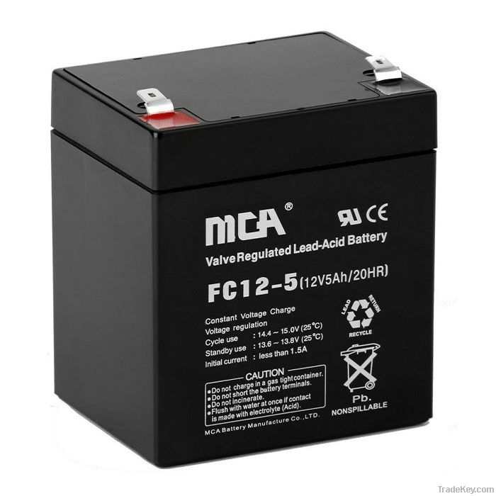 AGM battery 12V-5AH