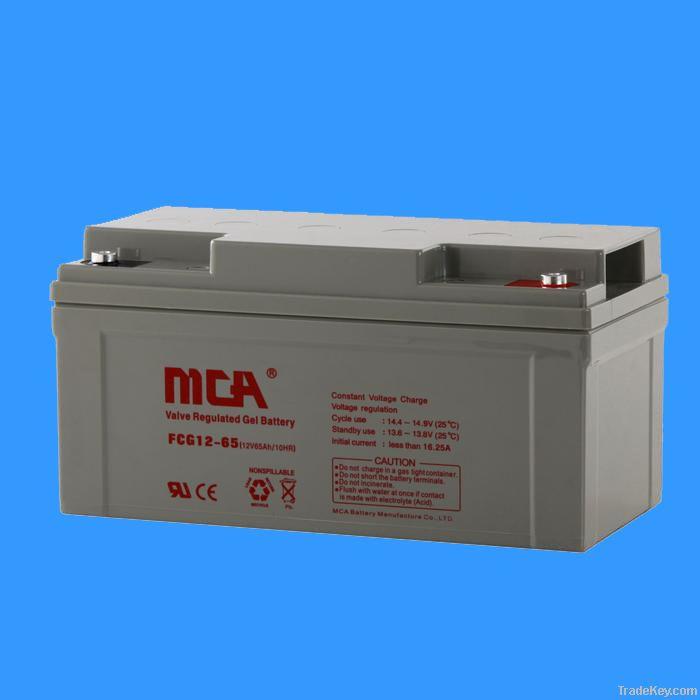 GEL batteries 12V-65AH