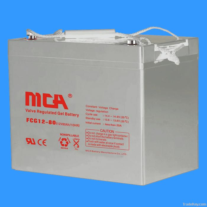 GEL batteries 12V-80AH
