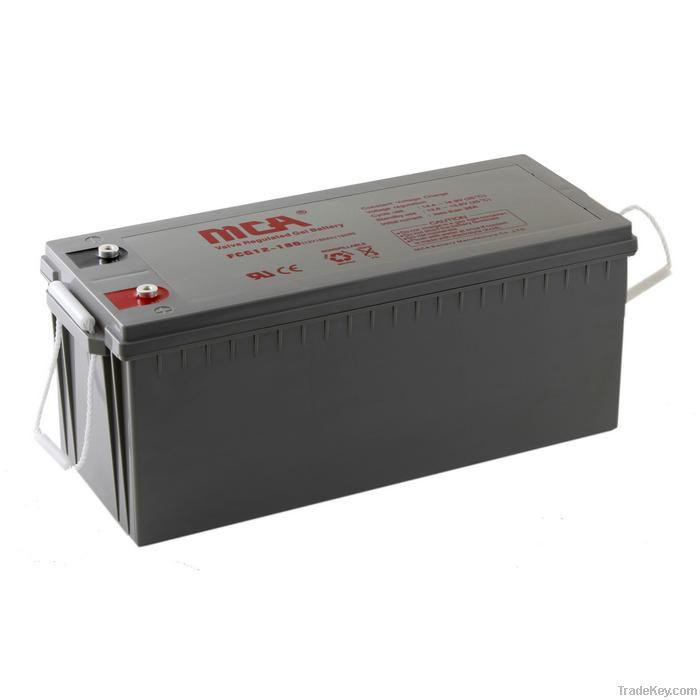 GEL batteries 12V-180AH