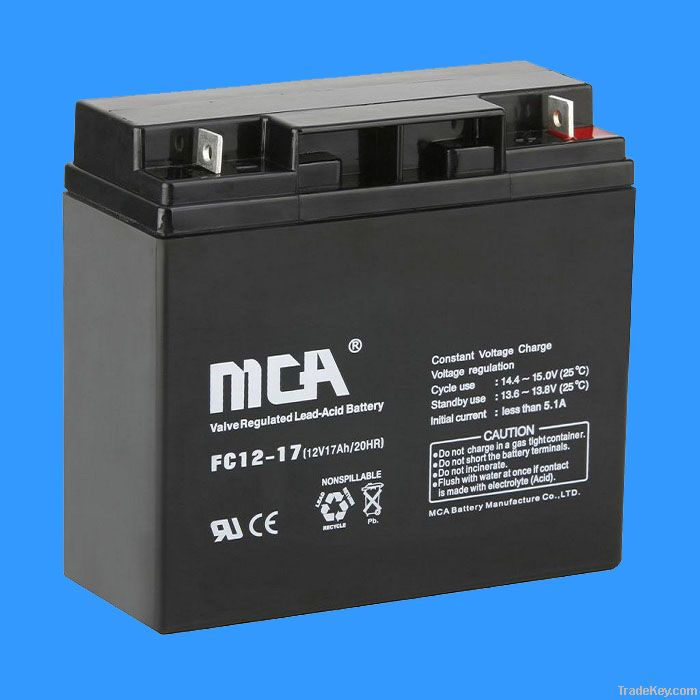 VRLA  battery 12V-17AH